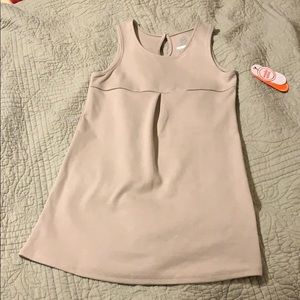 Girls khaki uniform dress size 7.